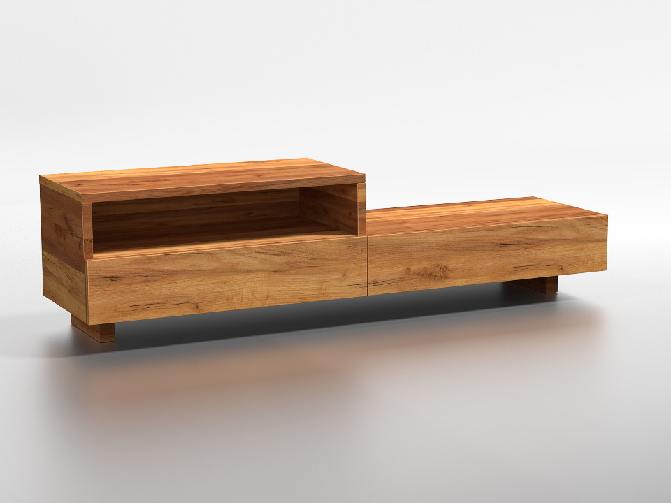 drewniana szafka RTV