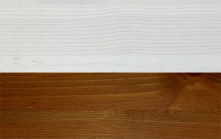Lakier biały-miodowy