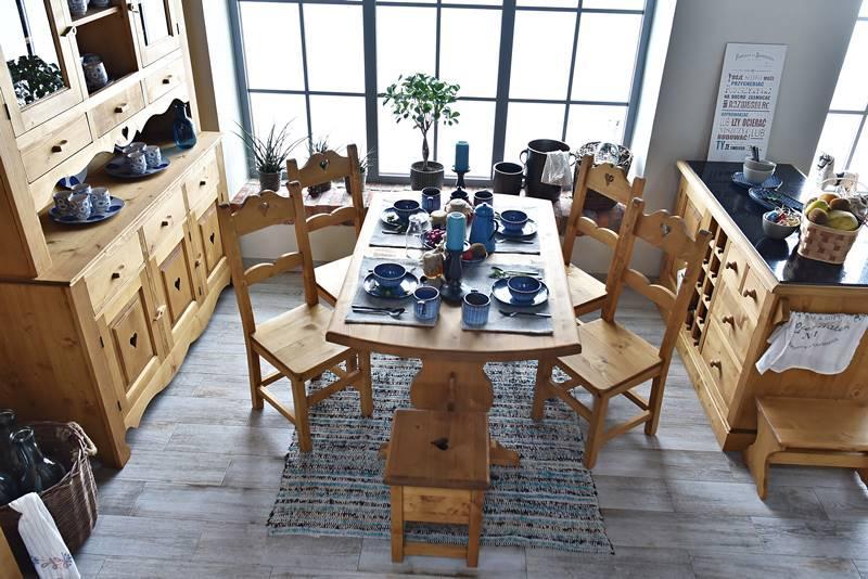 Stół świerkowy - kolekcja Mexicana