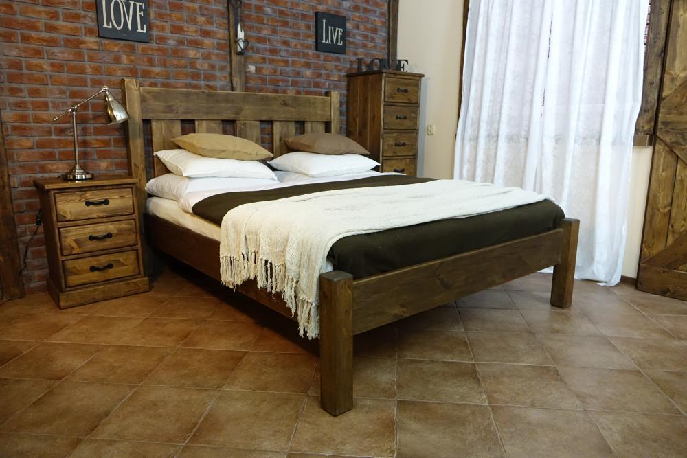 Łóżko Rustyk