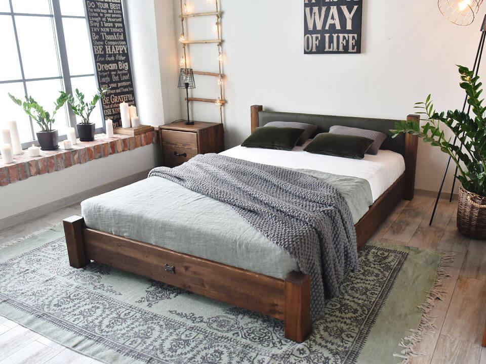 Łóżko Ziemowit z kolekcji Rustyk