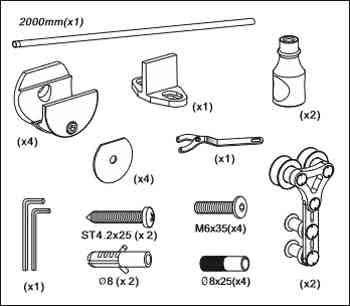 Elementy zestawu