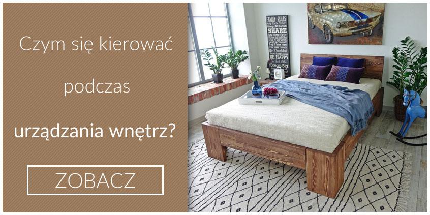 nowoczesne łóżko drewniane marika
