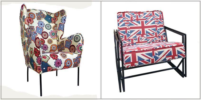 fotele w stylu loft