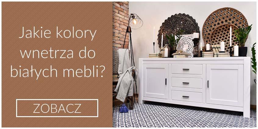 Jakie kolory we wnętrzu wybrać do białych mebli?
