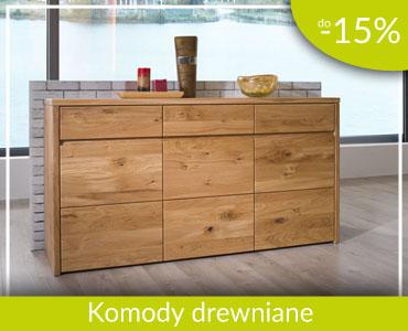komody drewniane -15%