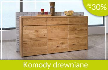 komody drewniane -30%