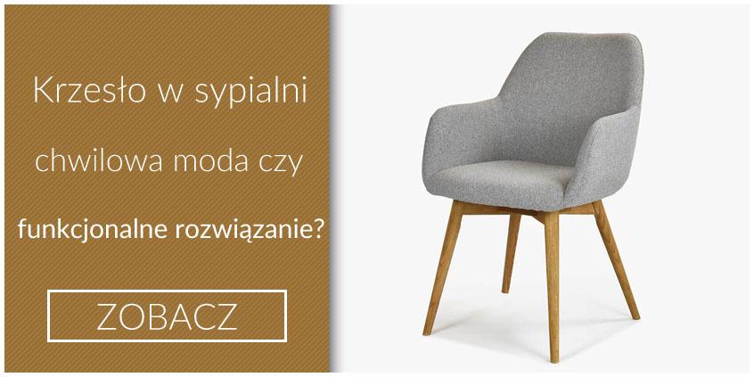 krzesło w sypialni