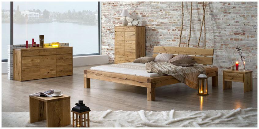 lozka drewniane do sypialni