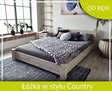 Łóżka w stylu Country od ręki