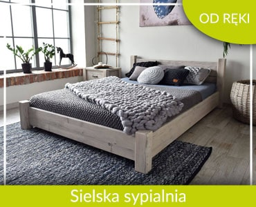 Sielska sypialnia OD RĘKI