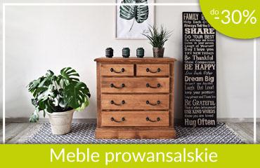 meble prowansalskie -30%