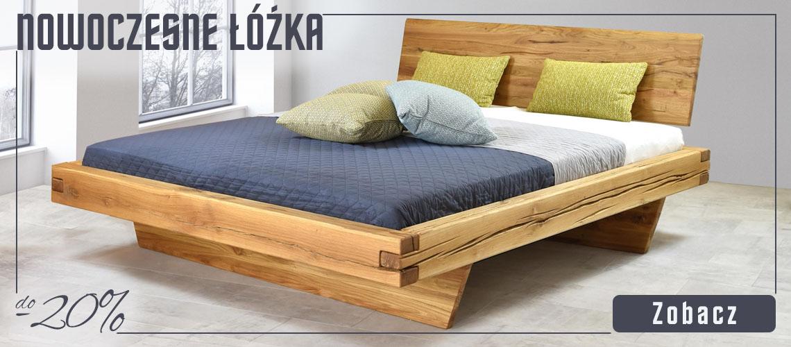 Łóżka nowoczesne do -20%