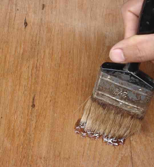 Olejowanie mebli