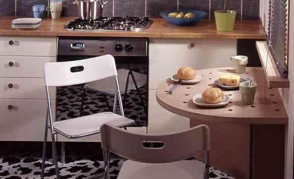 Stól do małej kuchni