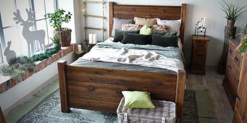 drewniane meble rustykalne