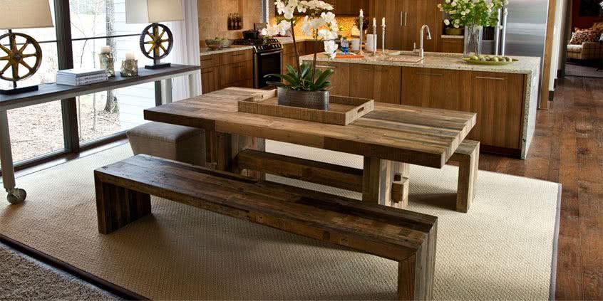 ławki z litego drewna, ławki drewniane, ławki do salonu, ławki do kuchni, meble drewniane