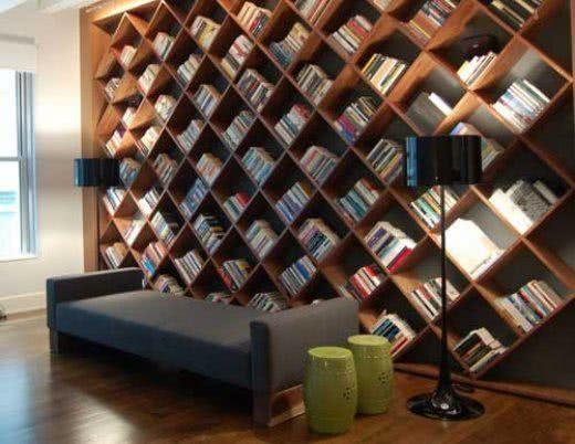 Regał drewniany na książki