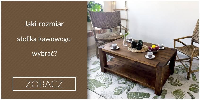 Jaki rozmiar stolika kawowego wybrać?