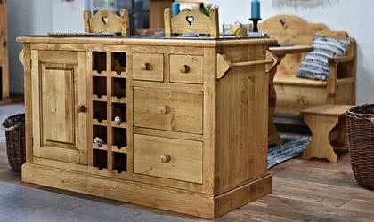 meble drewniane, komody