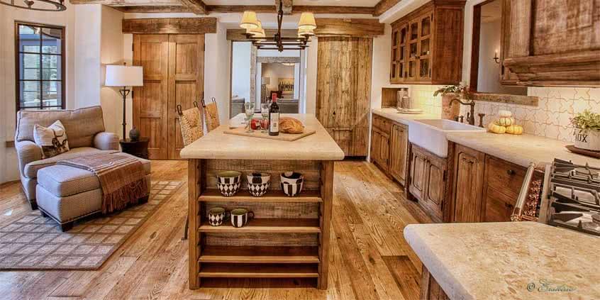 Meble drewniane do kuchni