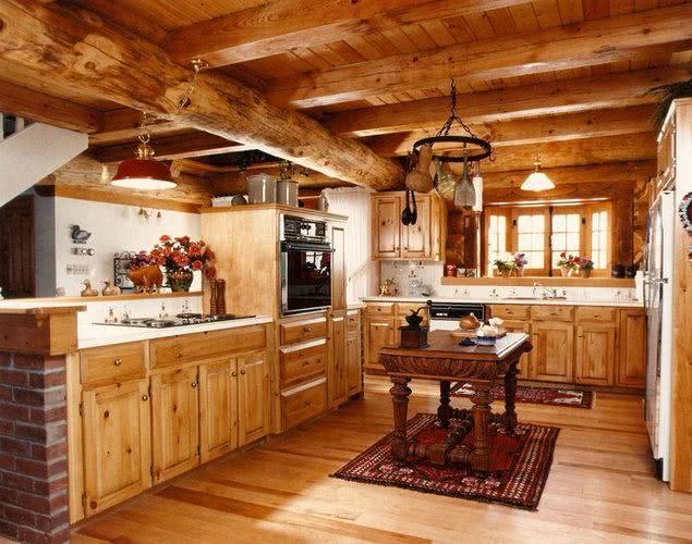 Kuchenne meble drewniane
