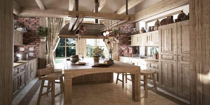 Drewniane meble do kuchni - ponadczasowe czy niemodne?