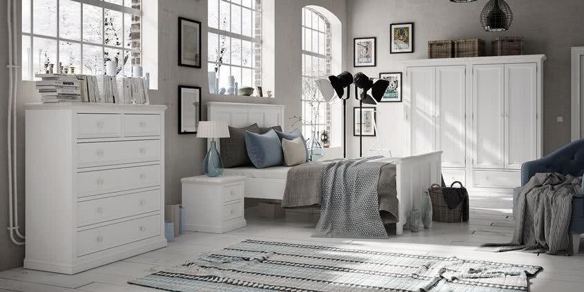 meble drewniane, meble z litego drewna, meble, seart, aranżacja sypialni, meble prowansalskie, meble białe, meble prowansalskie do sypialni