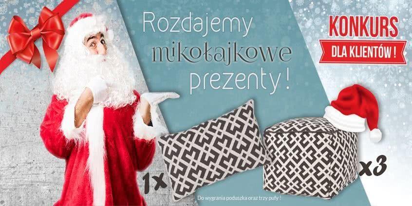 Konkurs - Rozdajemy prezenty na Mikołajki!