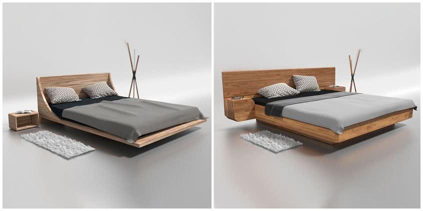 ranking łóżek dębowych