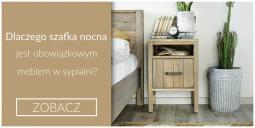 Dlaczego szafka nocna jest obowiązkowym meblem w sypialni