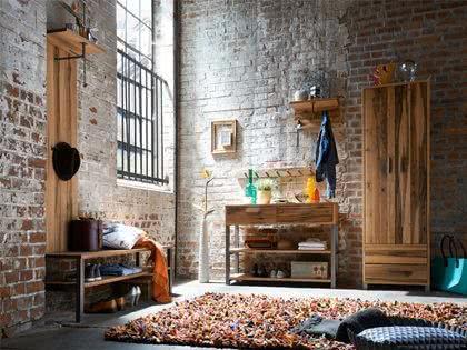 meble drewniane, styl industrialny