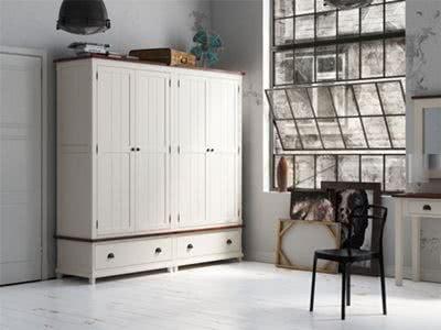 meble drewniane, szafy do sypialni
