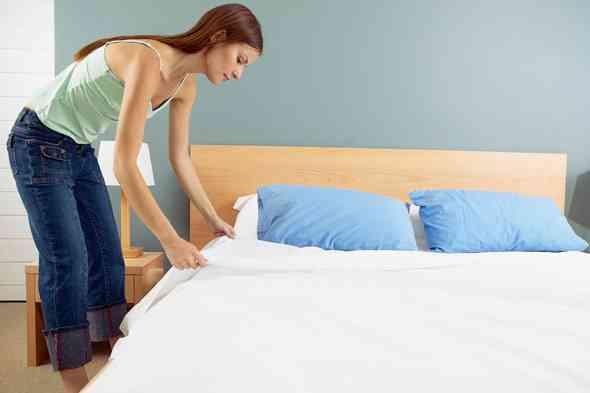 Sypialnia z drewna