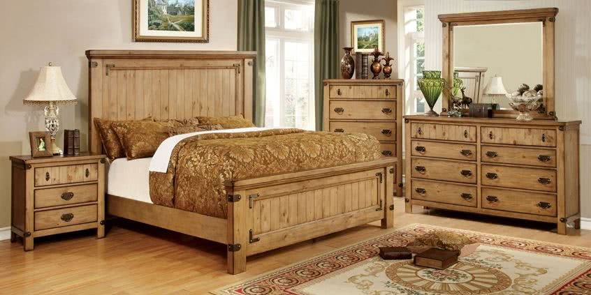 Nowoczesne meble drewniane sklep meblowy for Country style bedroom suites