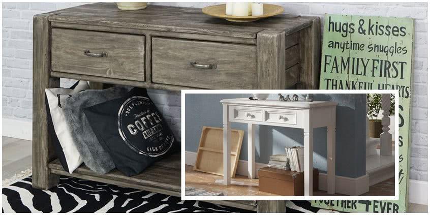 meble drewniane, toaletki, konsole