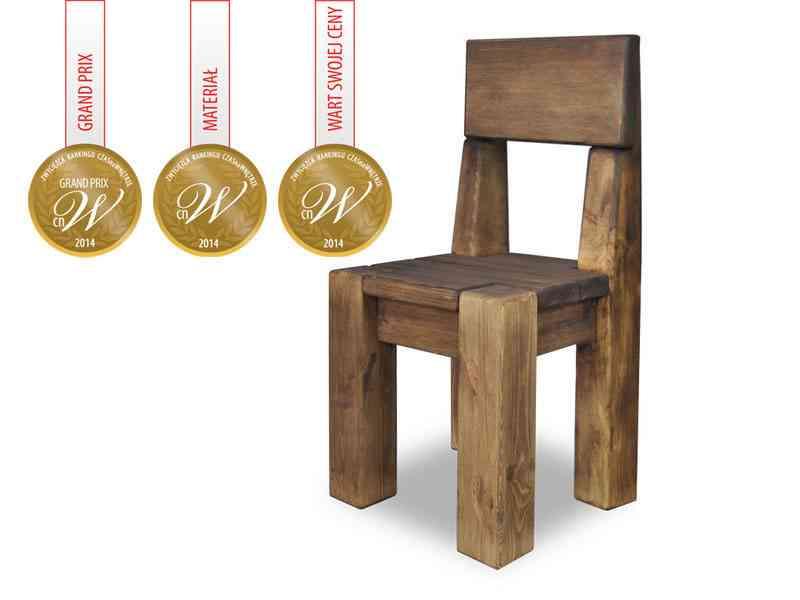 Krzesło dębowe rustyk