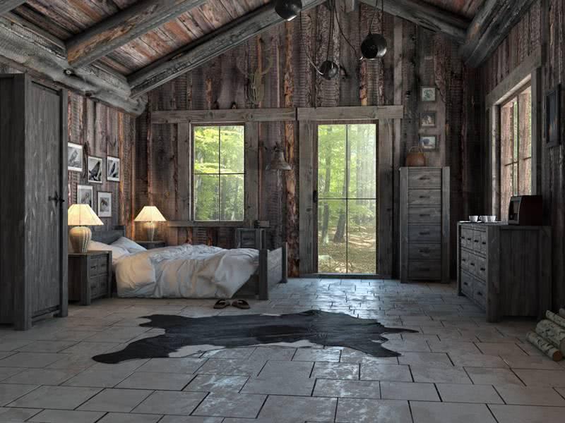 meble do sypialni w stylu country