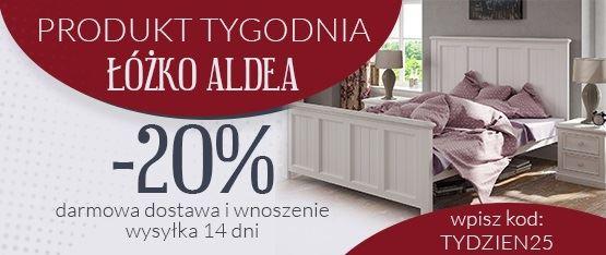 Łóżka białe w promocyjnej cenie