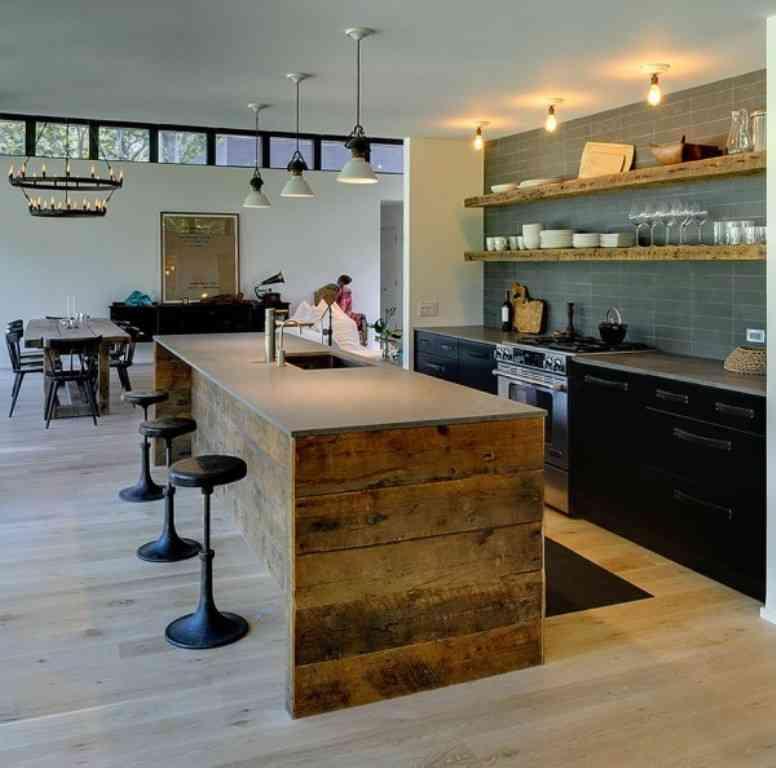Meble drewniane kuchenne