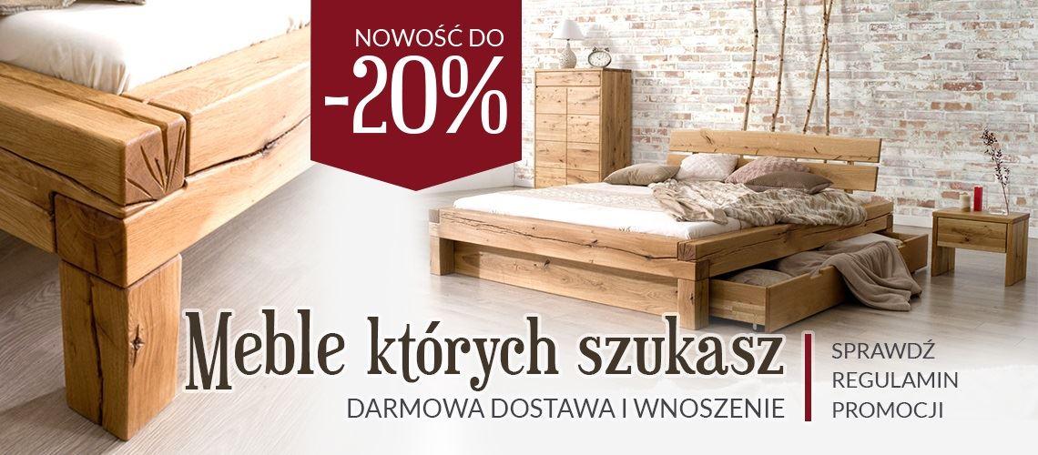 Kolekcja mebli drewnianych Stylish Bedroom