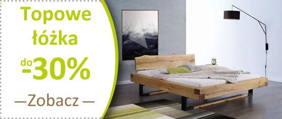 topowe łóżka drewniane